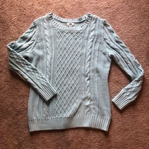 Old Navy Robin Egg Blue Sweater